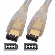Кабель IEEE 1394 Fire Wire, 6/6pin, 1.8m