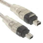 Кабель IEEE 1394 Fire Wire, 4/4pin, 1.2m